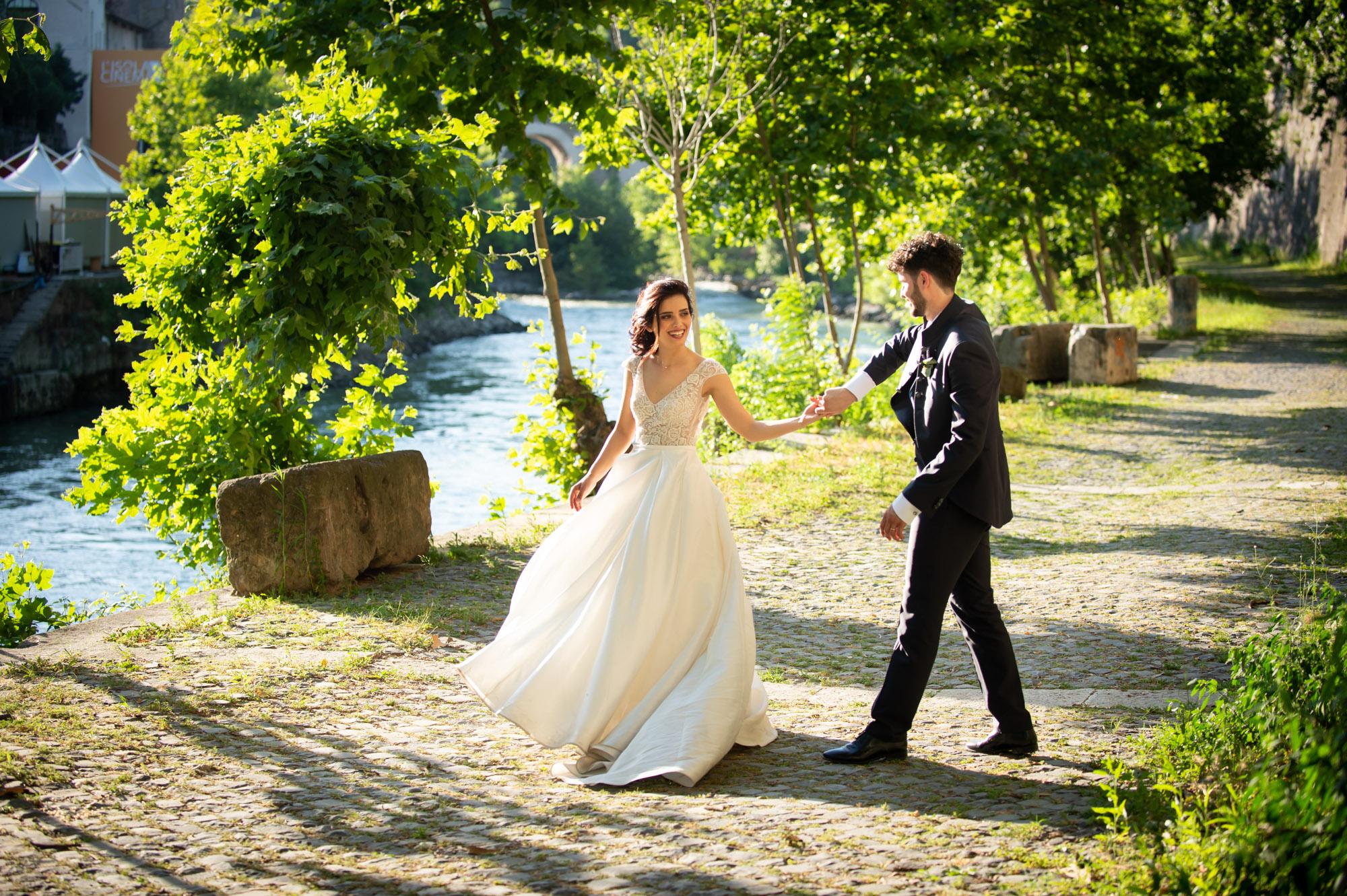 Dove fare le foto matrimoniali a Roma  Loreti Foto