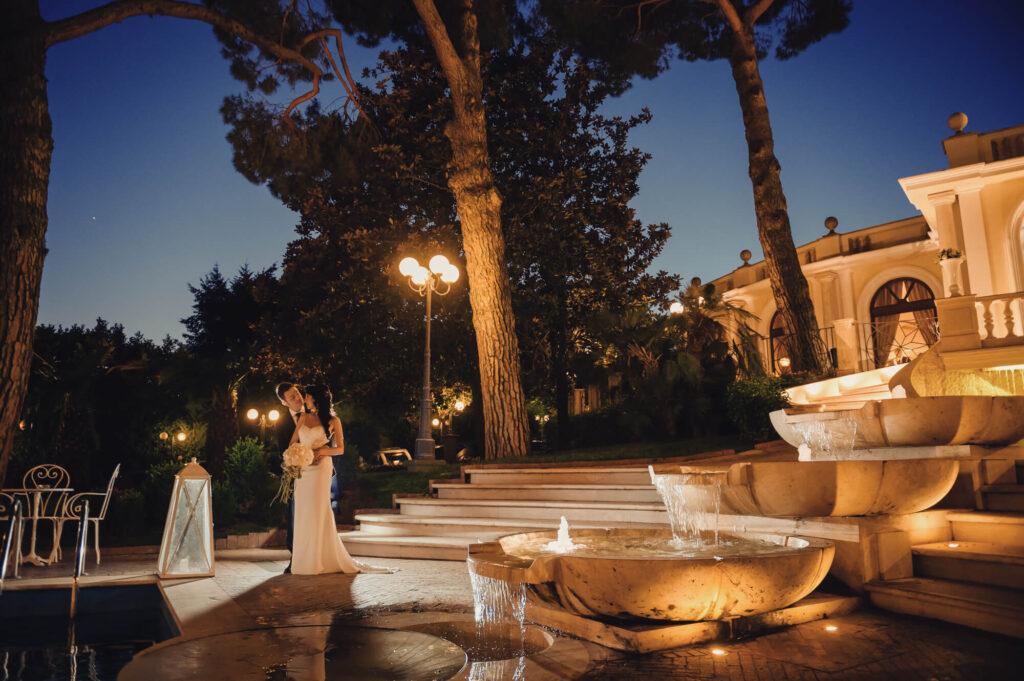 Villa matrimonio castelli romani - park hotel villa ferrata - location matrimonio roma