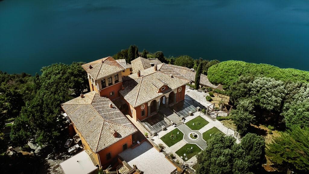 villa matrimonio roma - villa del cardinale